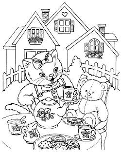 Ζωγράφισε γάτες και γατάκια