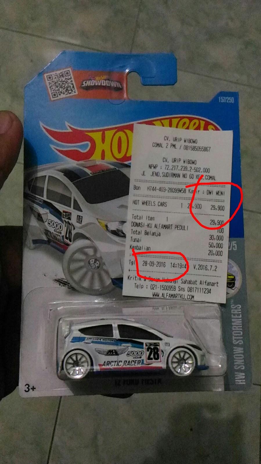 Hah Harga Hot Wheels Di Alfamart Naik Px Hobbies