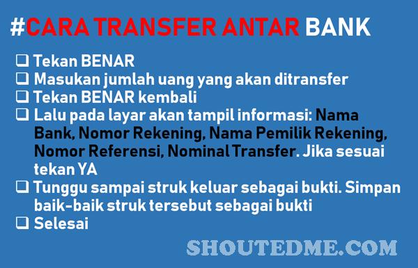 cara transfer antar bank dari atm bri ke bca