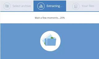 estrarre archivi online