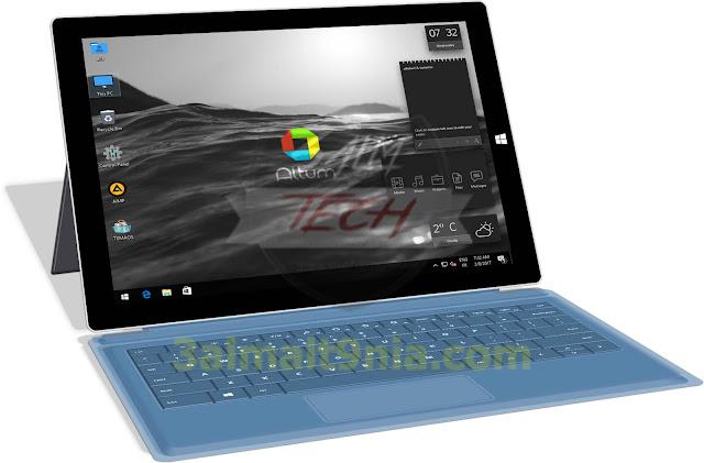 (Windows 10 Altum Pro 1607 (2017 - عالم التقنيه