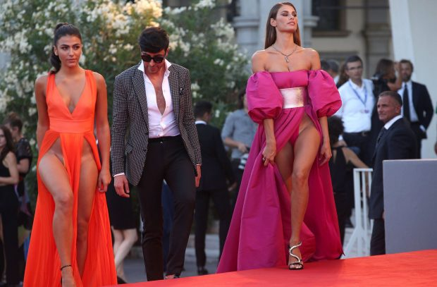 Controversial Gown Of Miss Italy During The Red Carpet Of Venice Film Festival 2016 Goes Viral Online! Find Out