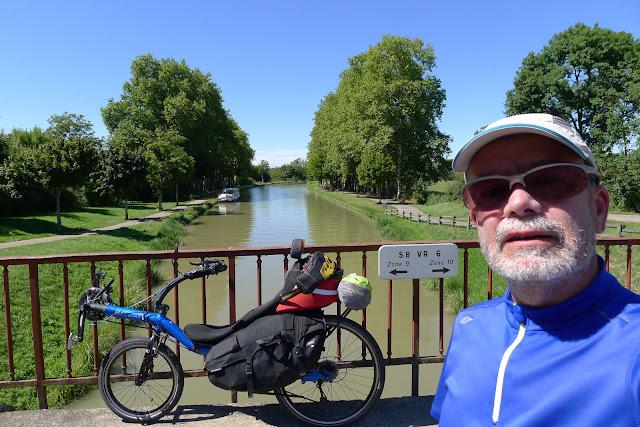De Paris à Narbonne en vélo, canal