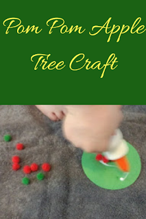 Pom Pom Apple Tree Craft