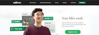 [ شرح ] موقع adfiver الجديد والرائع للربح من الاعلانات 001