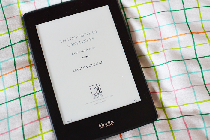 The Opposite of Loneliness by Marina Keegan review | Colours and Carousels - Scottish Lifestyle, Beauty & Fashion blog