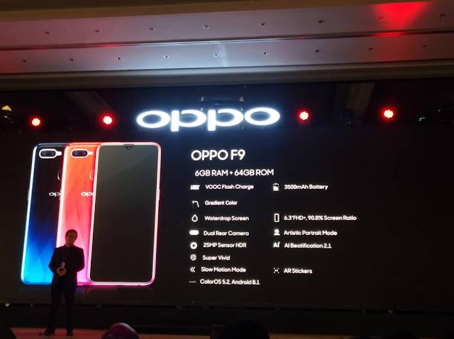 OPPO F9 in Malaysia