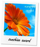 Sunshine Award!!!