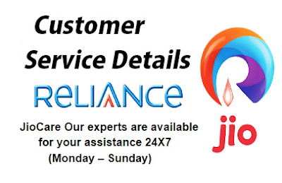 Jio Customer Service Center Toll Free Numbers