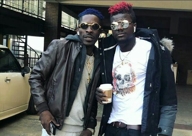 Shatta Wale uses Juju to Over Shed the Up and Coming Artist- Pope Skinny