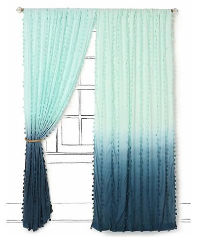 Leaf House Diy Ombre Curtains