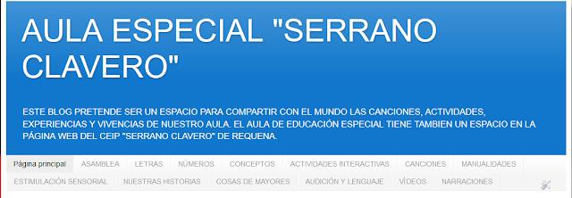 http://aulaespecialserranoclavero.blogspot.com.es/