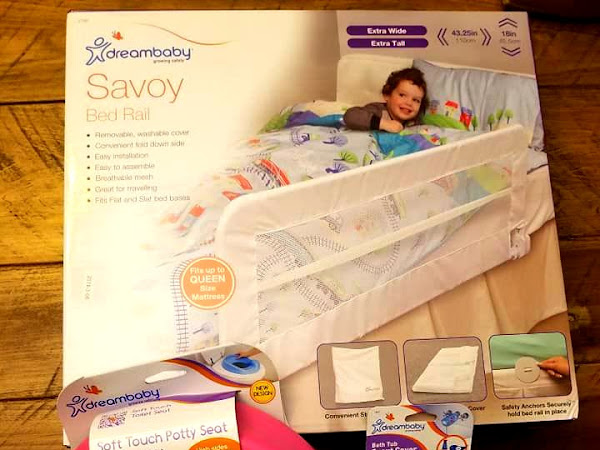 Keep Your Little Ones Safe with Dreambaby Safety Products + Dreambaby Prize Pack #Giveaway ($106.00 RV)