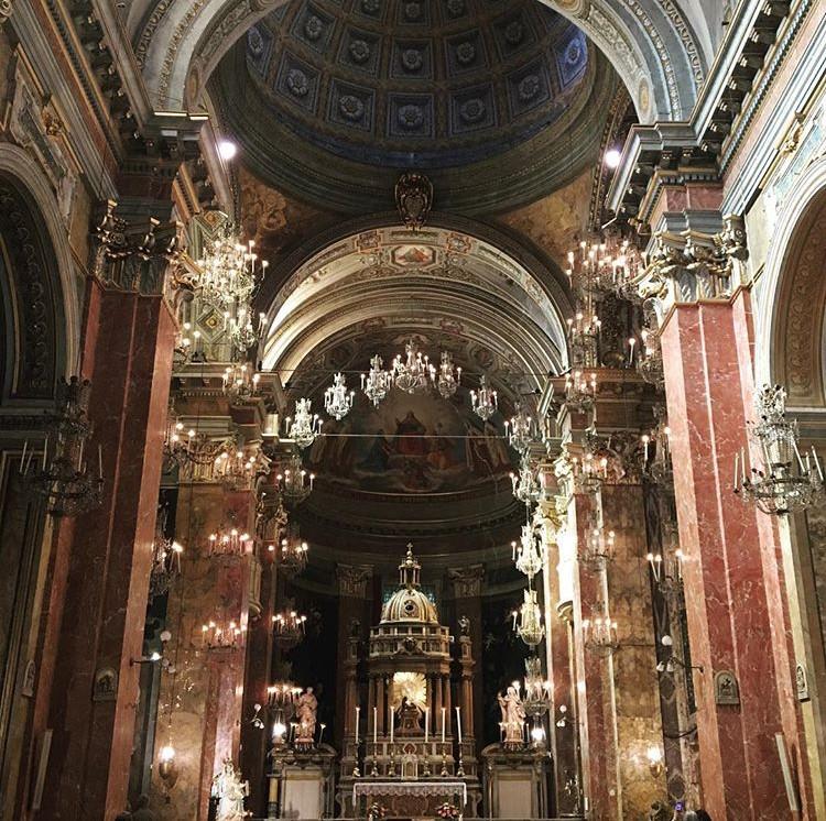 Beautiful Santa Maria della Scala, located in Trastevere, Rome, Italy.