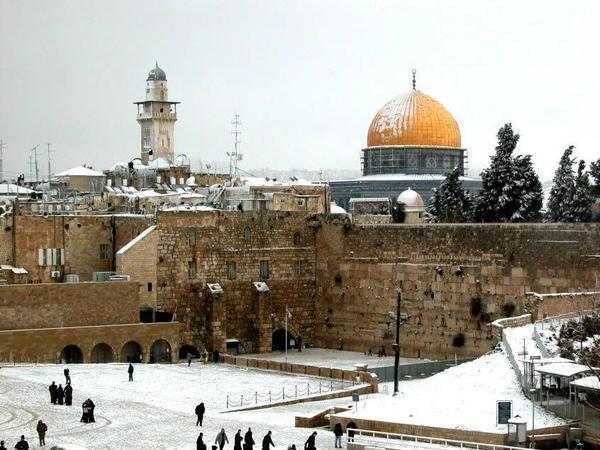 Resultado de imagem para Israel no inverno