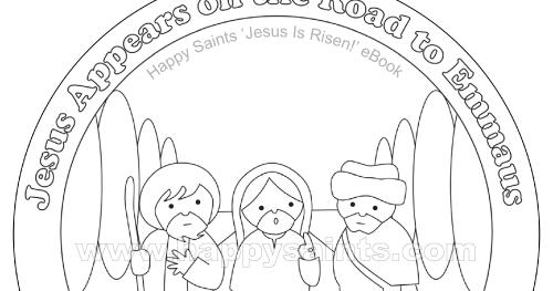 Happy Saints Road To Emmaus