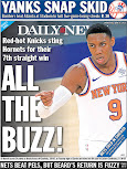 Knicks becoming back page force