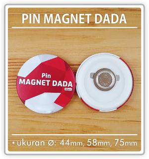 contoh pin magnet dada grosir dan satuan 24 jam rawamangun