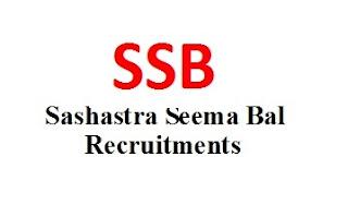 Jobs @ Sashastra Seema Bal (SSB).