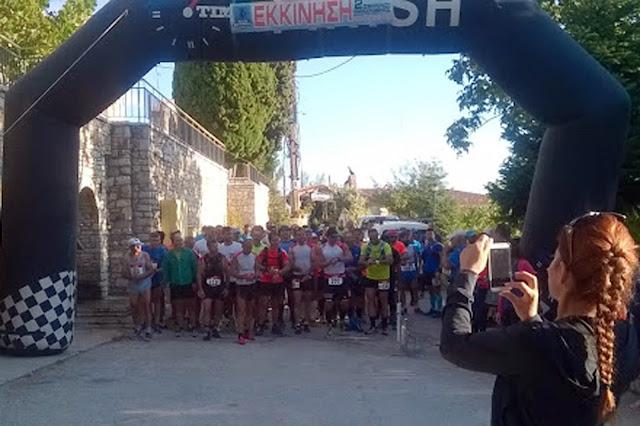 Τα αποτελέσματα του 2ου Artemisio Trail Run
