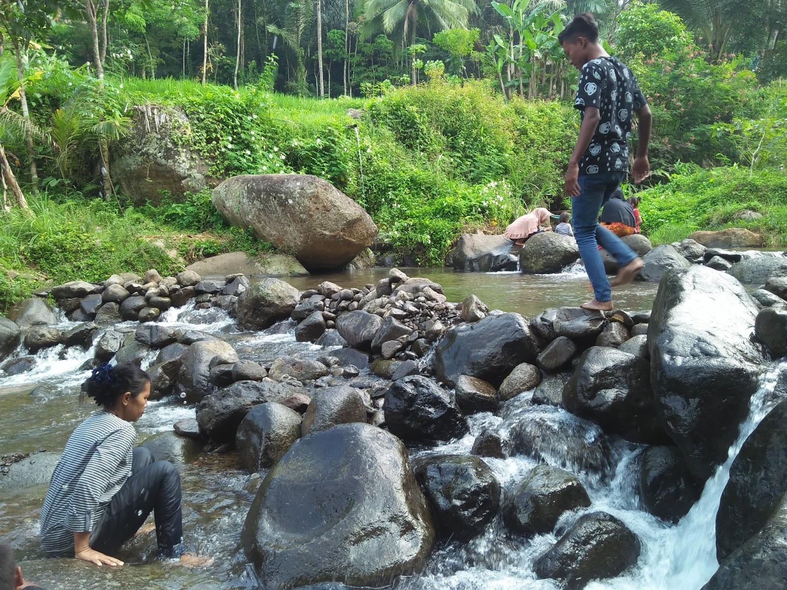Indahnya Wisata Alam Sungai Cireong Desa Sukaresik Sindangkasih