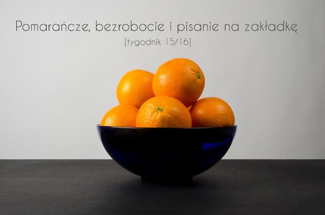 tygodnik, dziewczynaikot, pomarańcze