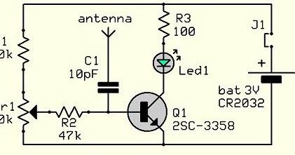 Homemade Diy Howto Make Simple Rf Mobile Signal Detector