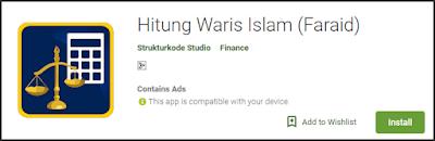 Ilmu untuk menghitung warisan terutama untuk anda yang beragama islam tentu haruslah dipel Aplikasi Hitung waris Berbasis android terbaik dan akurat