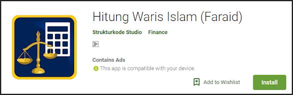Aplikasi Hitung Waris Berbasis Android Terbaik Dan Akurat