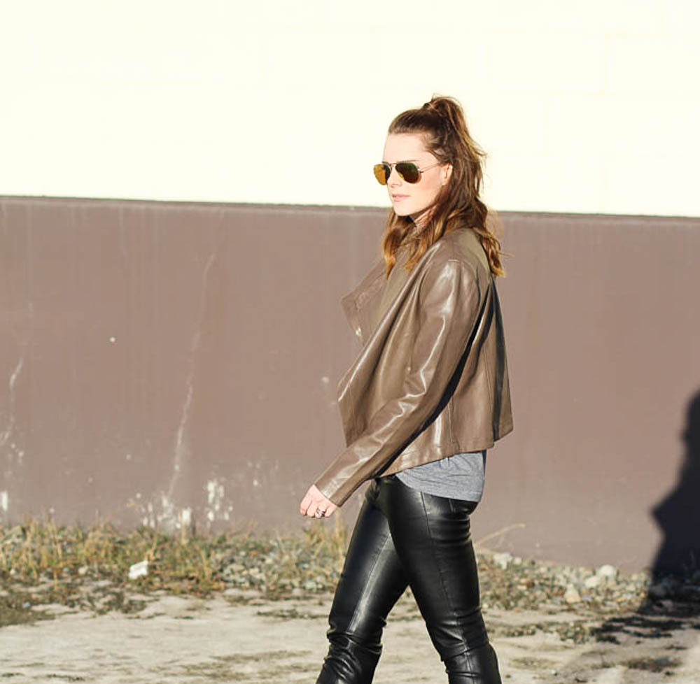 Leather Jacket Outfit