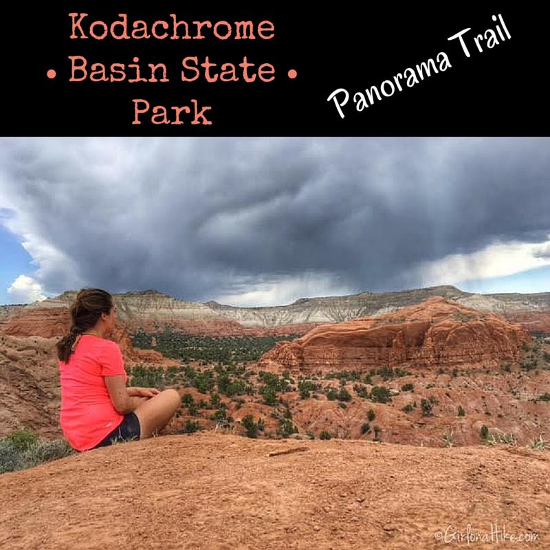 c09330e295f Girl on a Hike  Kodachrome Basin State Park