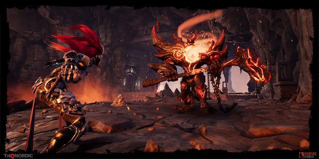 الإعلان رسميا عن تاريخ إصدار لعبة Darksiders 3 و الكشف عن فيديو جديد لطريقة اللعب من هنا …