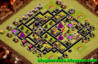 Base COC th 8 Anti Naga 02