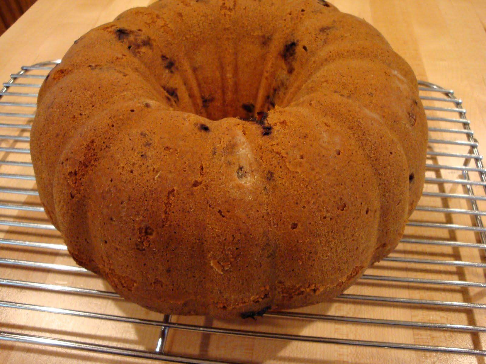 Blueberry Buttermilk Bundt Cake Epicurious