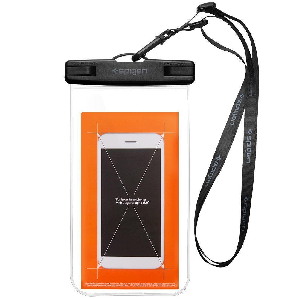 Google Pixel inside Waterproof Spigen Phone Case IPX8 ...