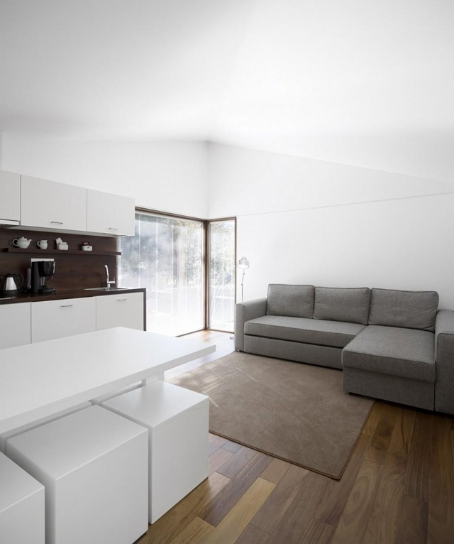 Picture of white minimalist interior