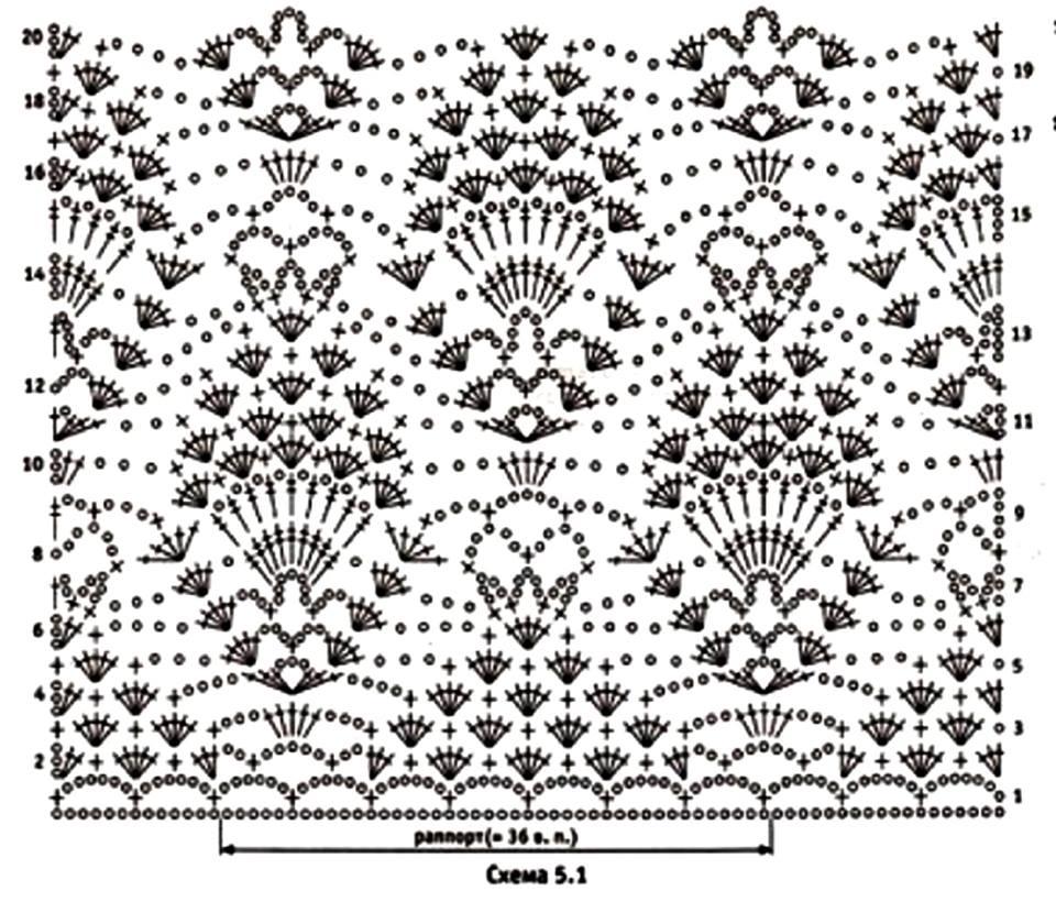 Tina's handicraft : crochet shirt with a large flyweel