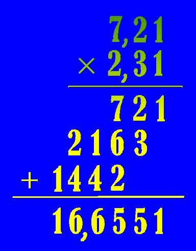 Conta de Multiplicação