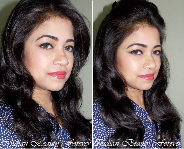 Astonishing Simple Quick Makeup Look With Two Different Hairstyles Indian Short Hairstyles For Black Women Fulllsitofus