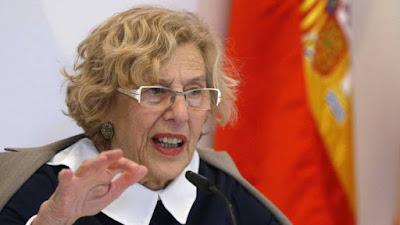 Carmena, cobra, alcaldesa, sueldo, podemos, ahora madrid, comunismo