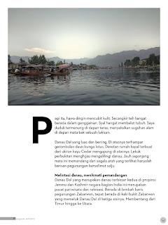 Tulisan perjalanan di majalah