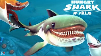 Download Hungry Shark World v1.0.6 Mod Apk + Data