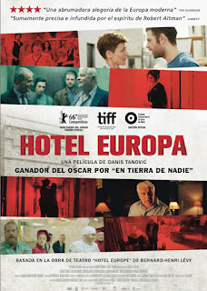Cartel oficial español: Hotel Europa (2016)