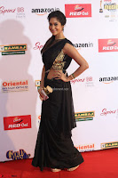 Sindhu looks fabulous in Black Saree designer choli at Mirchi Music Awards South 2017 ~  Exclusive Celebrities Galleries 054.JPG