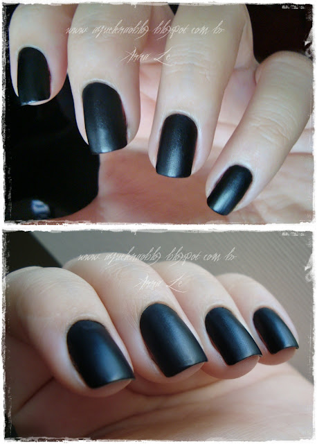 Preto Fosco Risque Fast Fashion Esmalte Nailpolish Matte