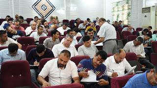 118 مشاركا يخوضون اختبار الكفاءة المهنية لدى نقابة الصحفيين العراقين