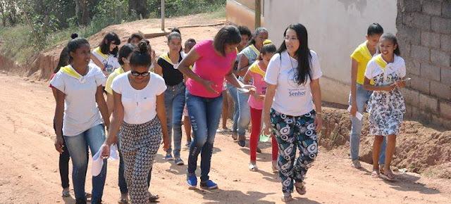 JM promove formação missionária para adolescentes e jovens de comunidade de Minas Gerais