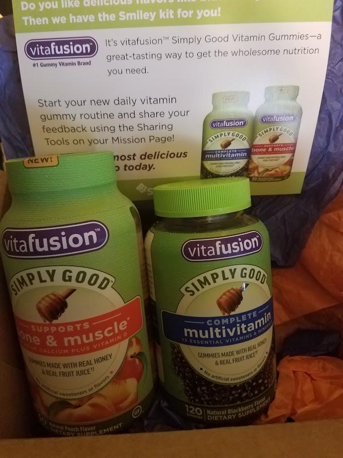#SampleSundays - vitafusion™ Simply Good Vitamin Gummies (Product Review)