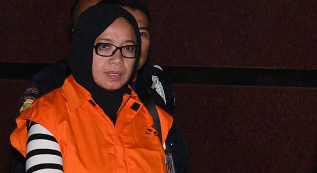 KPK Terima Vonis Pengadilan Tipikor Jakarta terhadap Eni Saragih