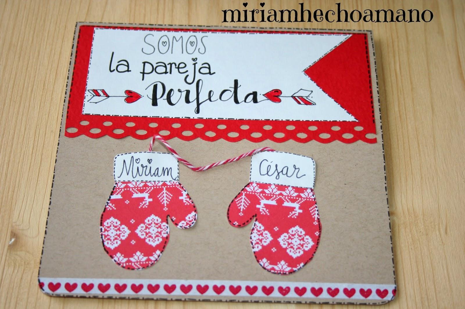 Miriam hecho a mano ideas de san valentin hechas a mano - Album para san valentin ...